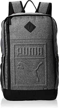 Puma S Backpack Grey Bag For Unisex, Size One Size