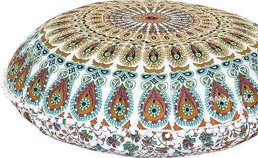 Bohemia Mandala Almohadón Funda De Poliéster Cushion Covers Regalo Decoración Hogar Cama
