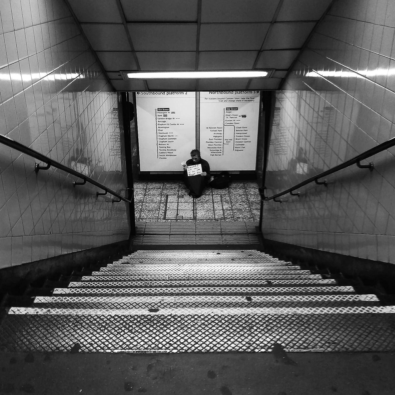 Amazon com london photography london underground stairway print