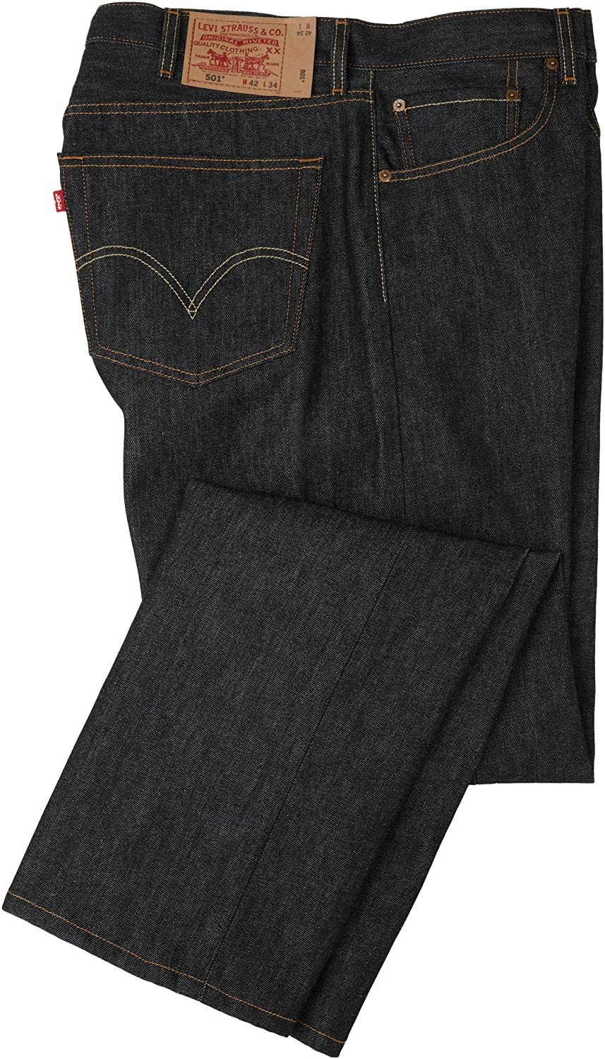 244ae291aa8 Levi\'s Big & Tall Size ChartShrink-to-Fit denim is an unwashed version of  the 501® Original that you wash, wear, and break in on your own.