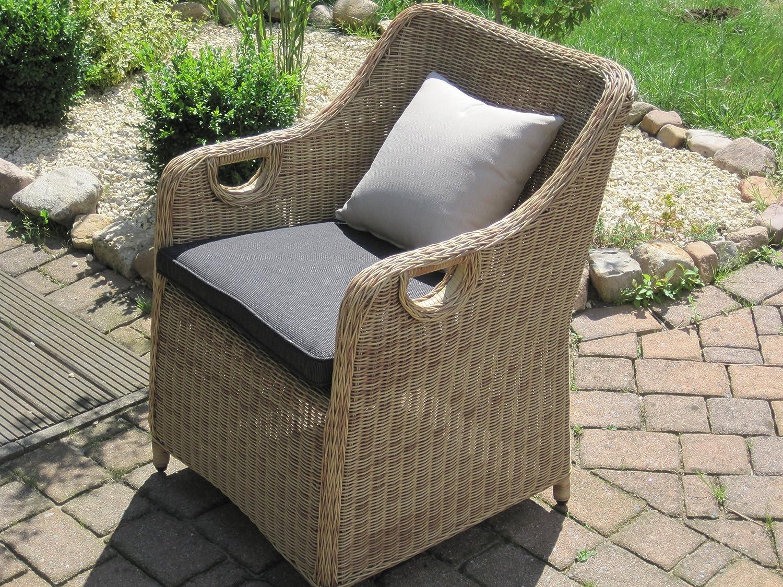 Amazon.de: Sitzgruppe Garten Garnitur Tisch und 8 Sessel / Stühle ...
