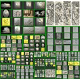 3D model STL for artcam, cnc, 3D printer Artcam, Aspire,Mach3 Compilation 132 pcs models