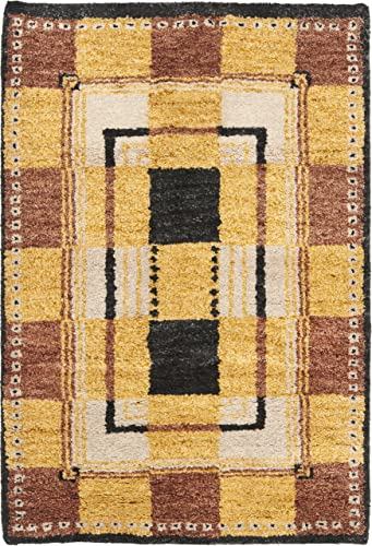 Safavieh Selaro Collection SL62C Hand-Knotted Multicolored Wool Area Rug 8 x 10