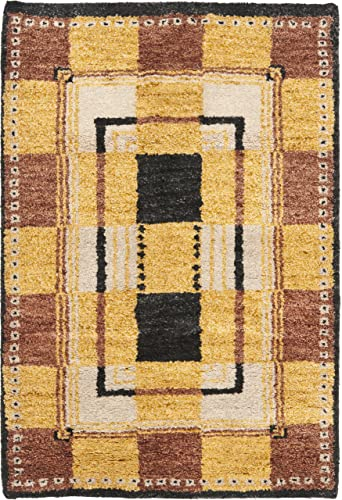 Safavieh Selaro Collection SL62C Hand-Knotted Multicolored Wool Area Rug 6 x 9