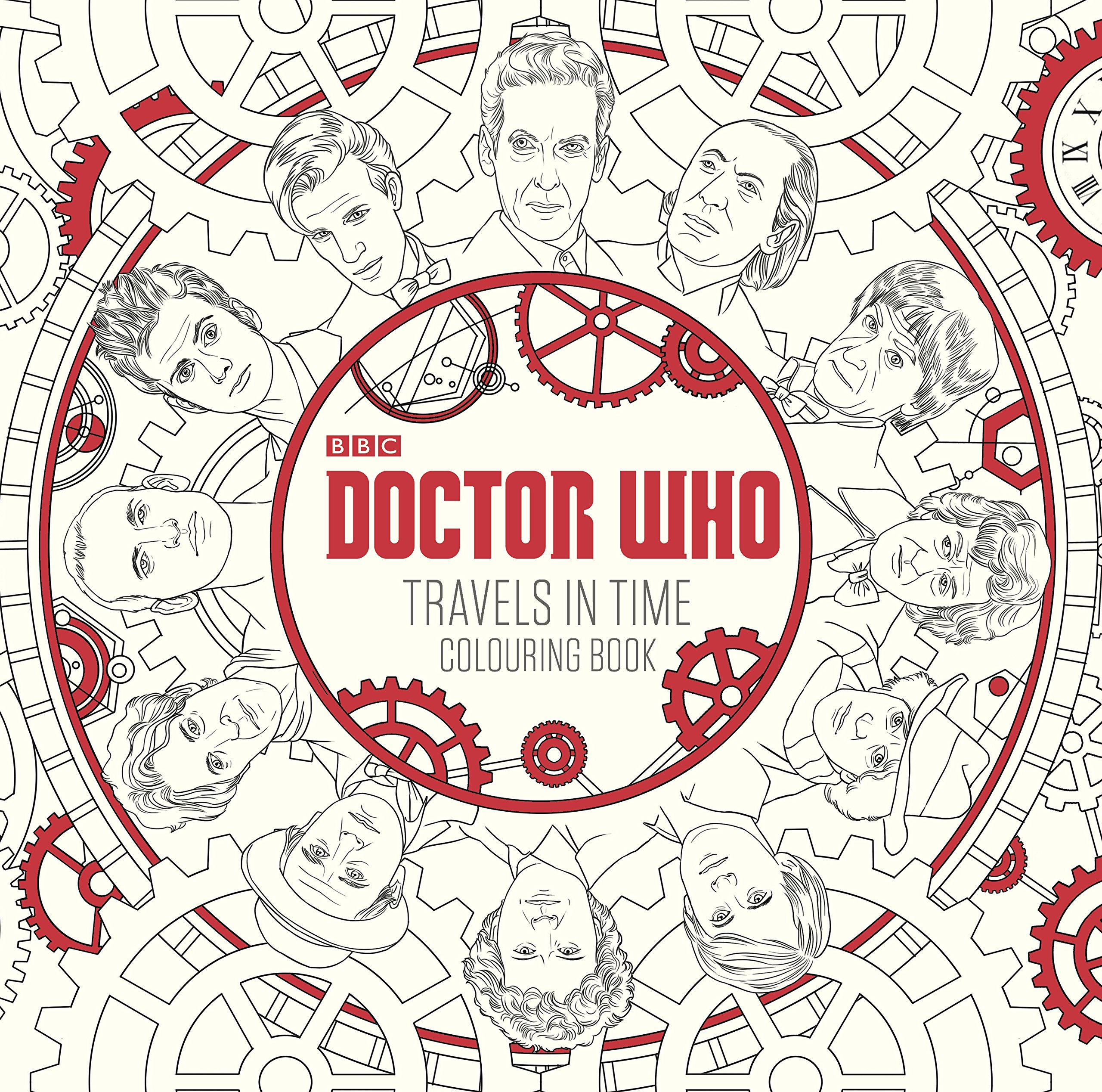 Doctor Who Travels In Time Colouring Book Amazoncouk Harry