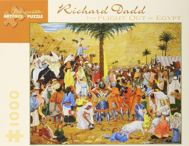 Richard Dadd 111629 Games /& Activities Puzzles Children: Grades 4-6 Juvenile Nonfiction Juvenile Nonfiction // Games /& Activities // Puzzles The Flight Out of Egypt: 1,000 Piece Puzzle Pomegranate Artpiece Puzzle