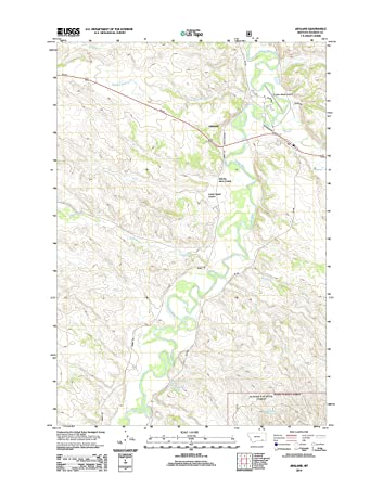 Ashland Montana Map.Amazon Com Topographic Map Poster Ashland Mt Tnm Geopdf 7 5x7 5