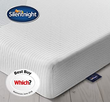Silentnight 3 Zone Memory Foam Rolled Mattres Made In The Uk