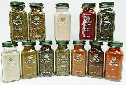 Simply Organic Spice Set