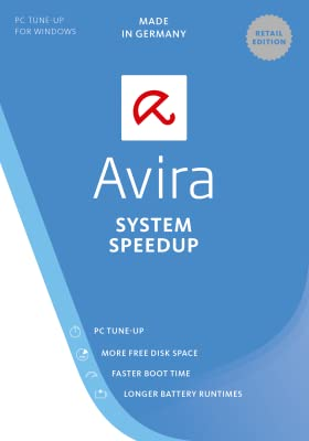 Avira System Speedup 2017 | 1 Device | 1 Year | Download [Online Code]