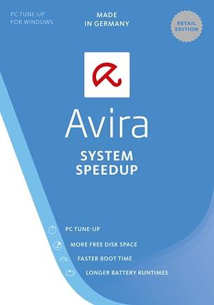 disinstallare avira free system speedup