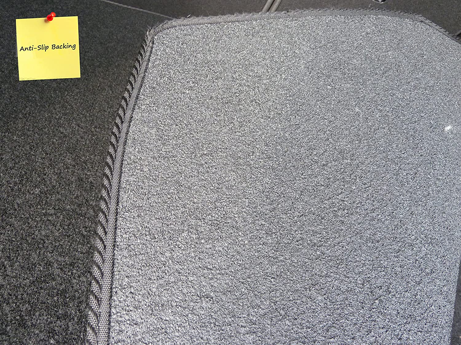 Black with Red Trim Connected Essentials CEB750 CR-Z 2011-Onwards Car Mat Set Prestige Bootmat