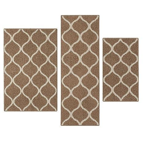 amazon com maples rugs kitchen rug set rebecca 3pc set non kid rh amazon com