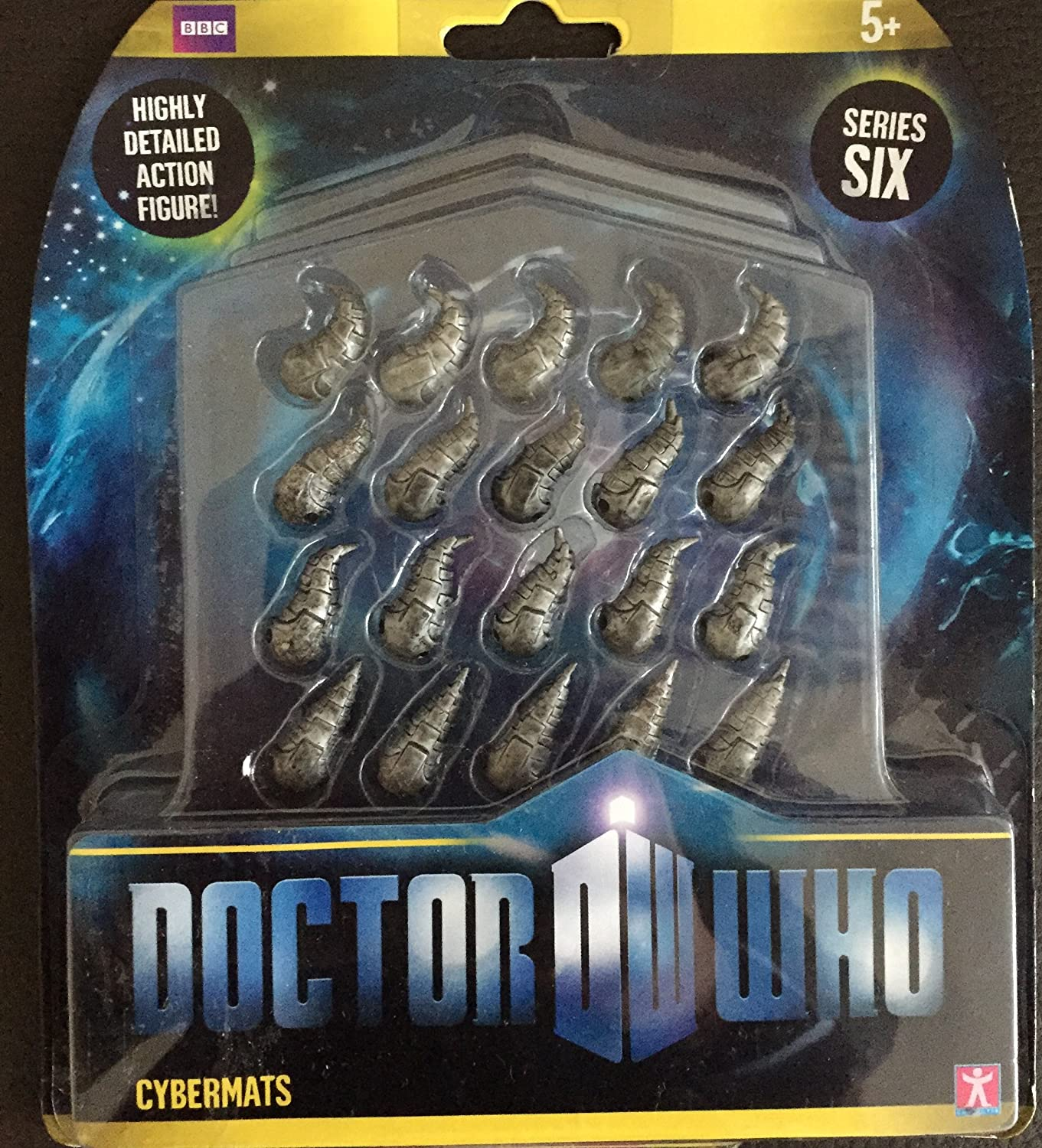 CYBERMATS Doctor Who Action Figure NEW Dr Who Series 6 Toy