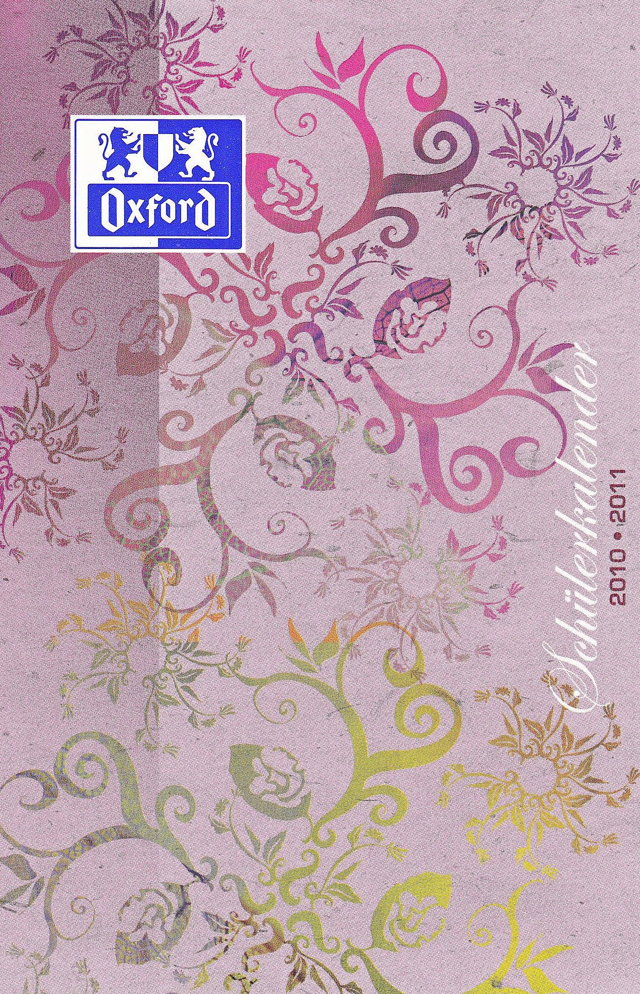 Oxford Schülerkalender Natural 2012 - Cover sortiert