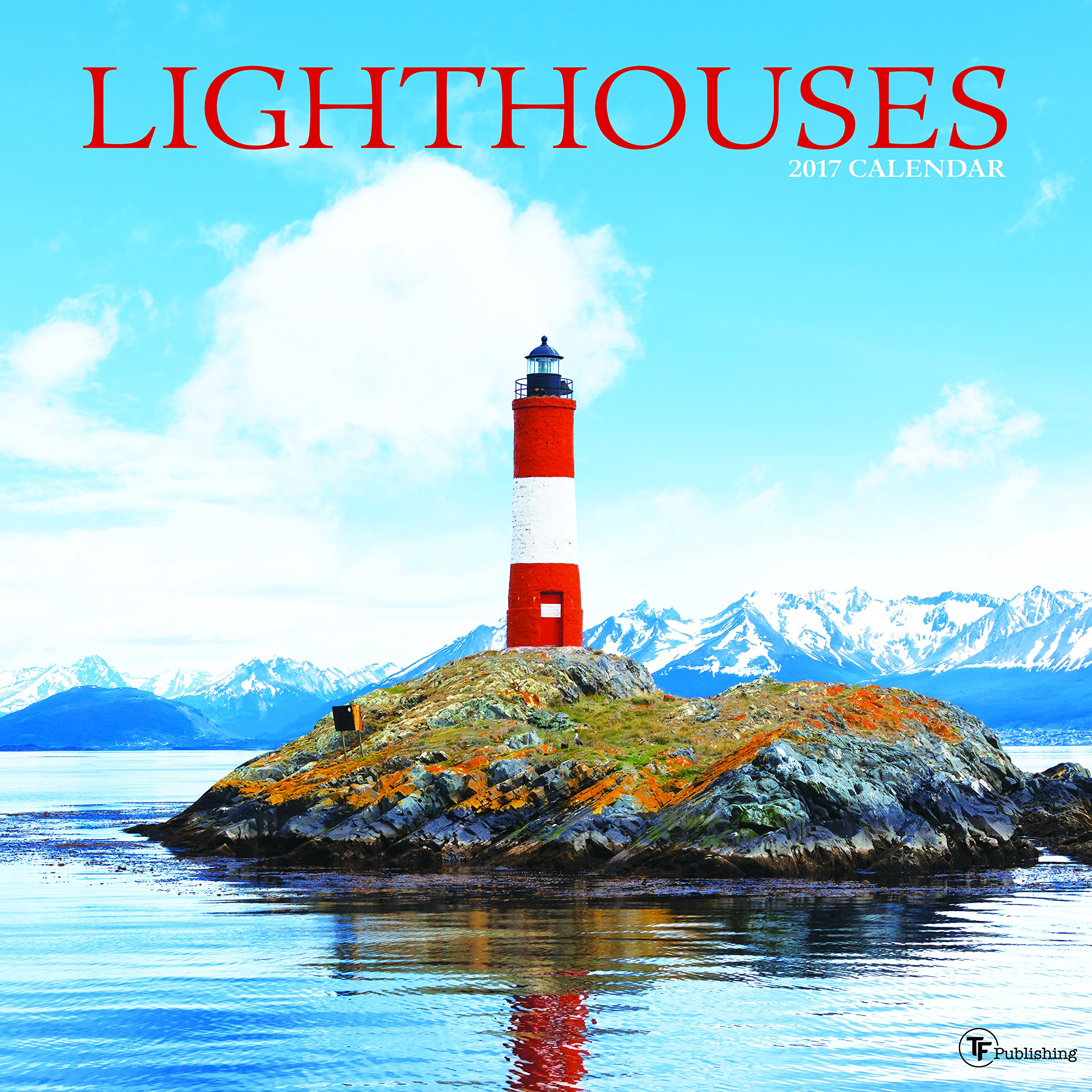 2017 Lighthouses Wall Calendar Calendar – Wall Calendar, August 20, 2016 TF Publishing Time Factory 162438689X 17-1098