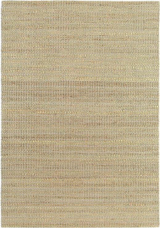 Alfombra Tapiz Salon Sala de Estar Carpet Piso Pelo Corto Design Ranger Uni Rug 70% Yute 30% Algodón Cotton 120x170 cm Rectangular Gris | Alfombra Tapizs Online Comprar: Amazon.es: Hogar