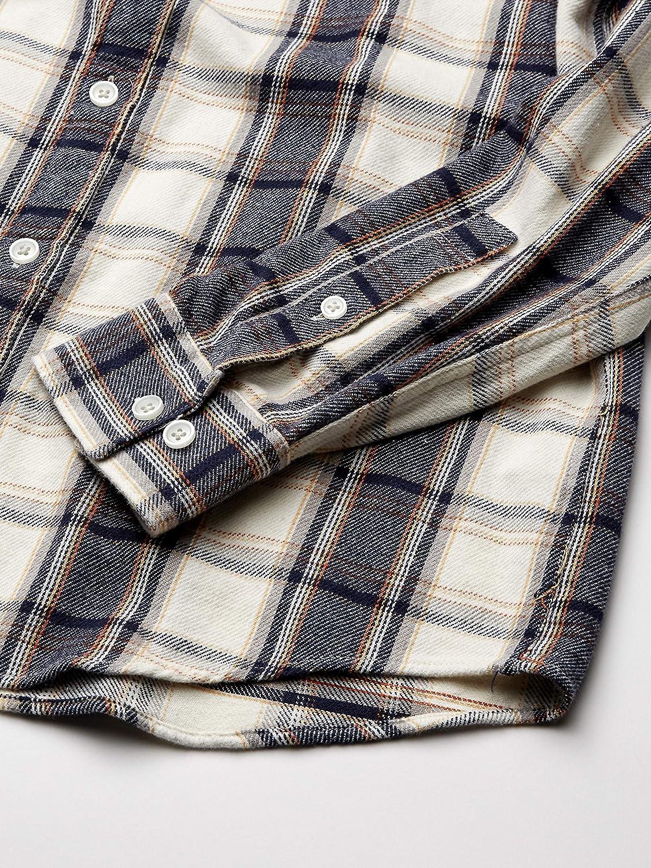 RVCA Mens Thatll Work Flannel Long Sleeve Shirt