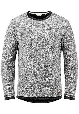 4f465ad1a1d3 Solid Flocks Herren Sweatshirt Pullover Flocksweat Pulli Mit  Rundhalsausschnitt Aus 100% Baumwolle, Größe