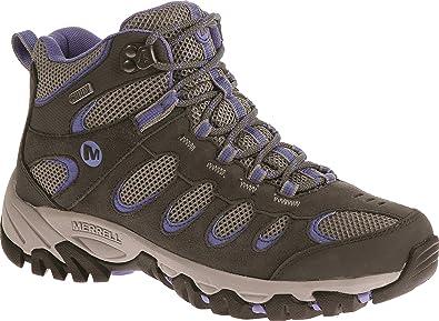 89c184e463b Merrell Women's Ridgepass Mid Waterproof High Rise Hiking Boots