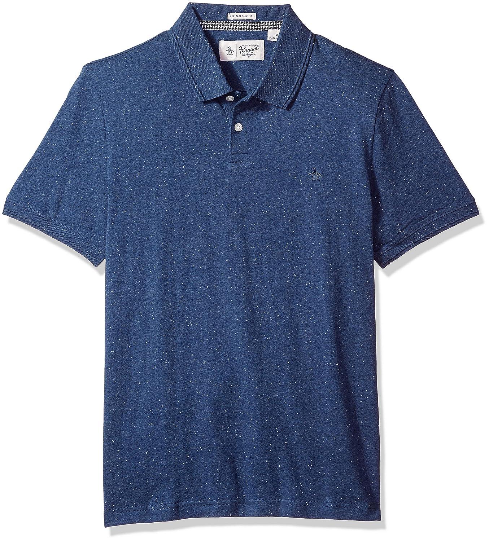 Original Penguin Mens Standard Men's NEP Speck Polo Shirt OPKF7061