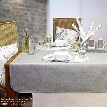 Sander 6 Tischsets BISTRO ALLEGRO 35x50 cm eckig abwaschbar ...