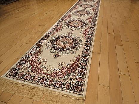 2x8 runner rug. Silk Persian Ivory Area Rugs Cream Living Room High Dense Luxury Rug 2x8 Hallway Runner M