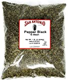 1 Pound Premium Coarse Ground Black Pepper (16 Mesh) for Barbeque Grilling Meat Rub Seasoning