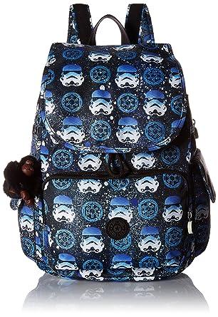 3ff0b6e5b67 Amazon.com  Kipling Star Wars City Pack Printed Medium Backpack  Interstellar Storm  Clothing