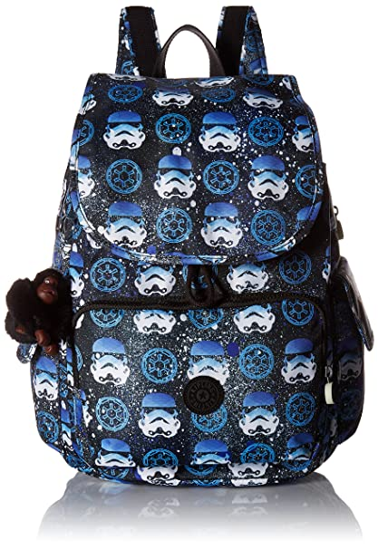 Amazon.com: Kipling Star Wars City Pack Printed Medium Backpack Interstellar Storm: Clothing