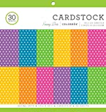 """ColorBok 73486A Cardstock Paper Pad Bright Spots, 12"""" x 12"""""""
