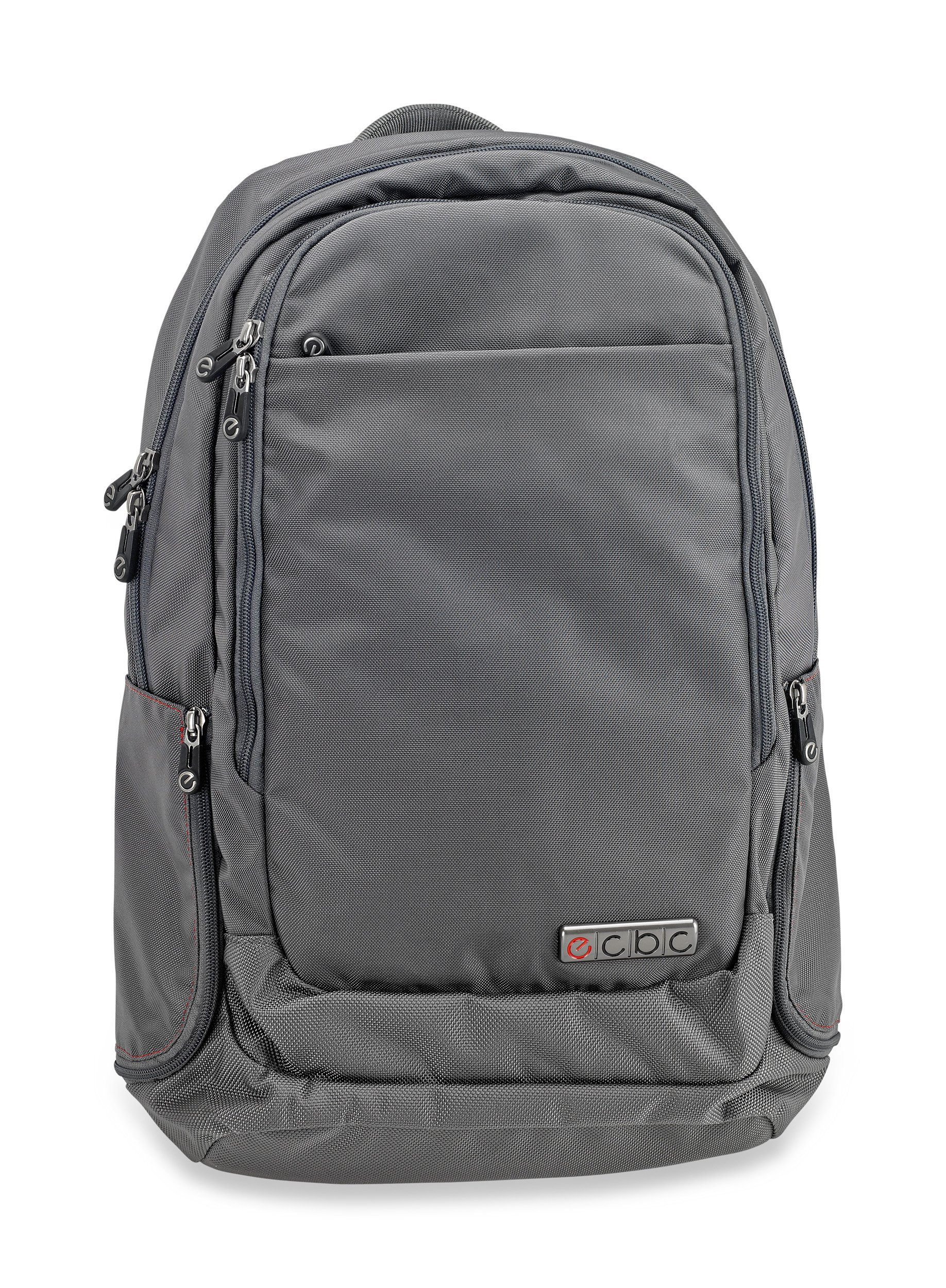 ECBC Backpack Computer Bag - Harpoon Daypack for Laptops, MacBooks & Devices Up to 16.5'' - Travel, School or Business Backpack for Men & Women - Premium Quality, Lightweight Design - Grey (B7101-30)