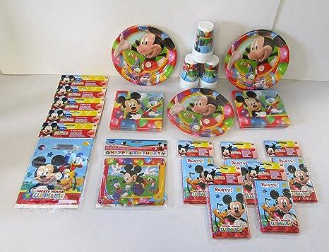 Tavolo Compleanno Topolino : Servizio da tavola topolino per feste per bambini amazon