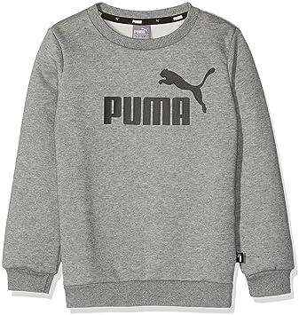 4a9ab73c778c7 Puma Ess Logo Crew Sweat FL B Pull Garçon  Amazon.fr  Sports et Loisirs