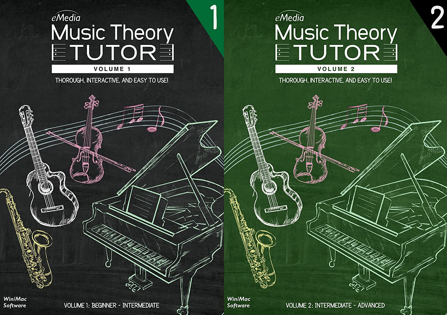 eMedia Music Theory Tutor Complete [Mac Download]