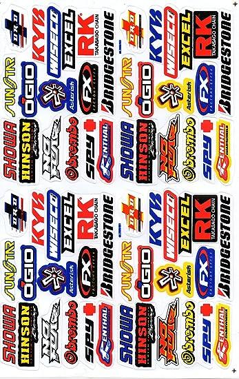 Dd Sponsoren Sticker Aufkleber Folie 1 Blatt 270 Mm X 180 Mm Wetterfest Auto