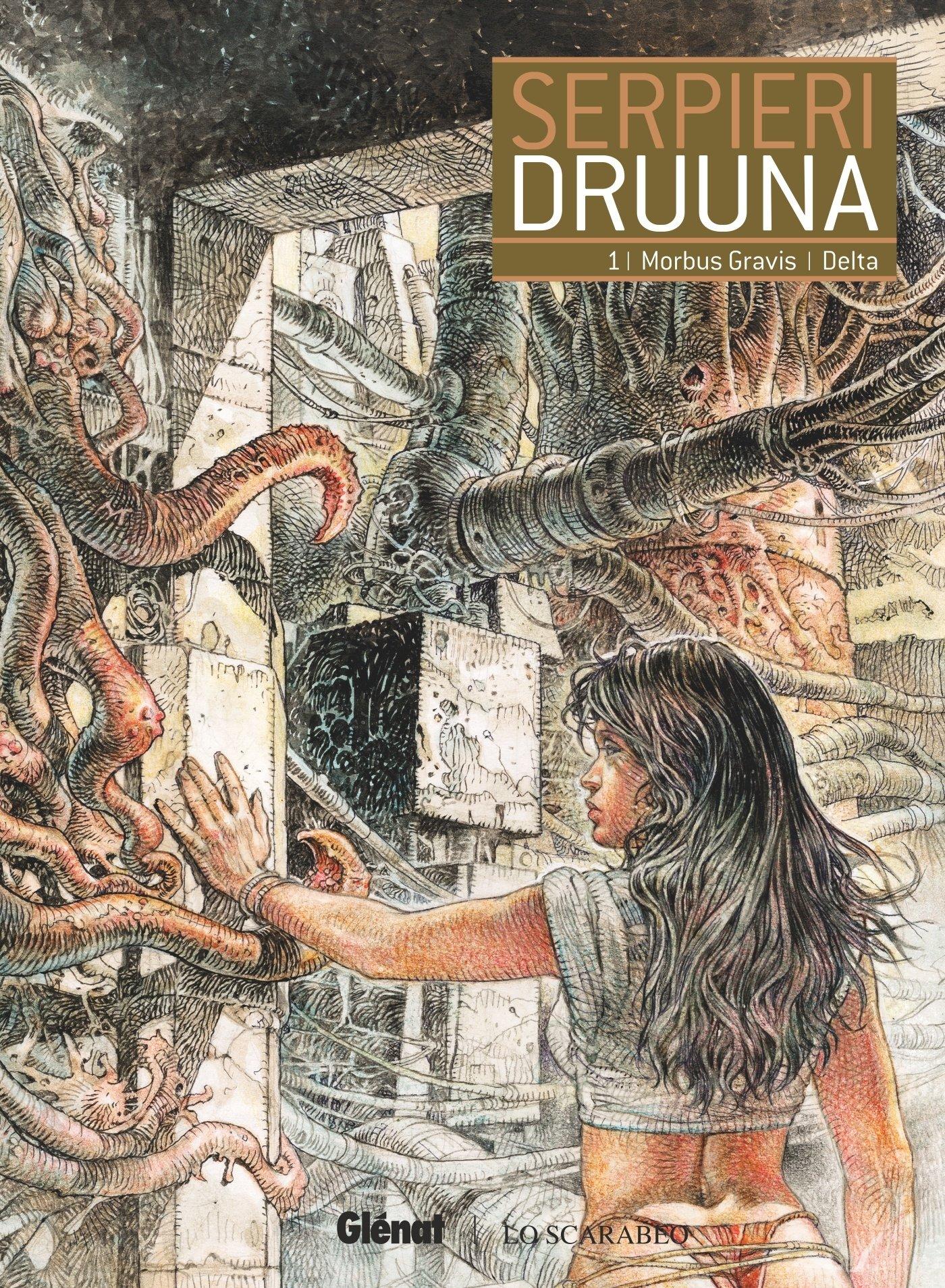 Druuna - Tome 01: Morbus Gravis - Delta Album – 20 janvier 2016 Paolo Eleuteri Serpieri Glénat BD 2344013547 Bandes dessinées de genre