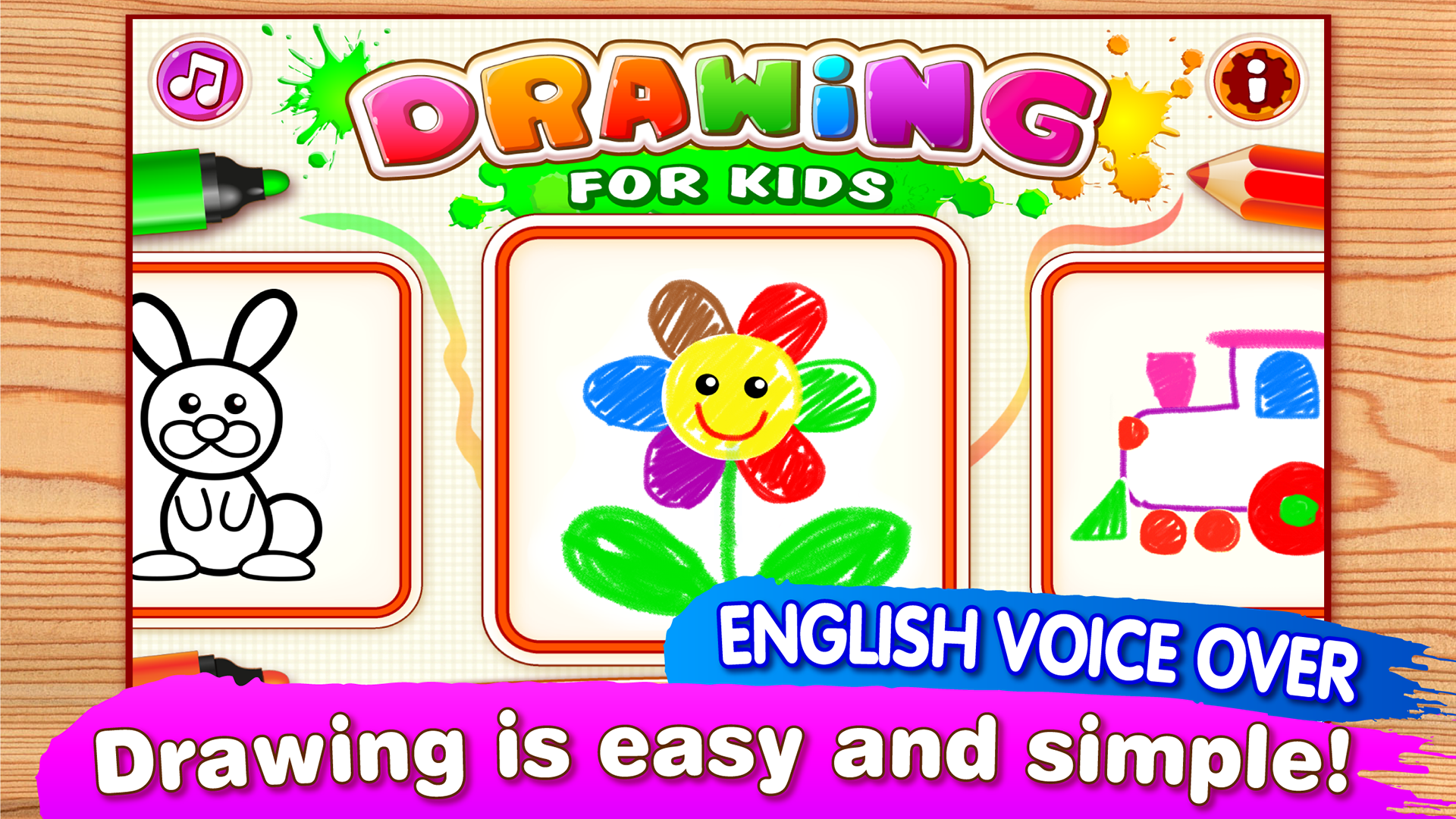 amazon com drawing for kids all drawings come to life here
