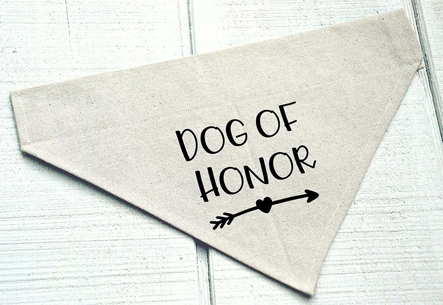 Dog Of Honor Over the Collar Bandana with Arrow