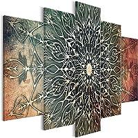 murando - Cuadro en Lienzo Mandala 100x50 cm