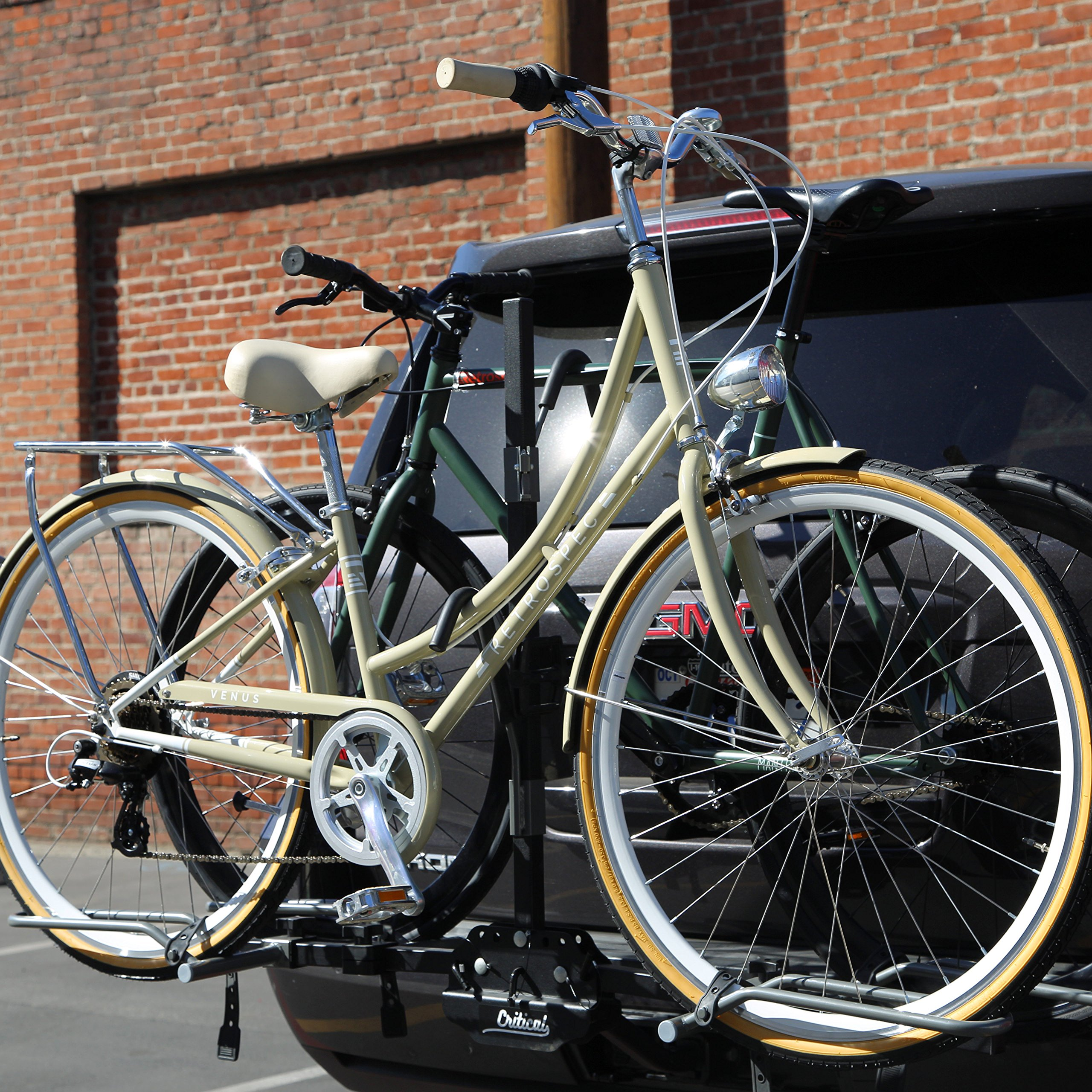 Critical Cycles Lenox Hitch Mount Tray Rack 2 Bike