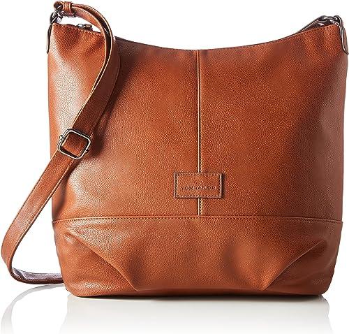 TOM TAILOR Miripu Shopper Braun Tasche Handtasche