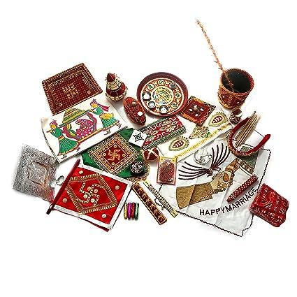 Buy Akbari Traders Marriage Vidhi Kit / Wedding Kit