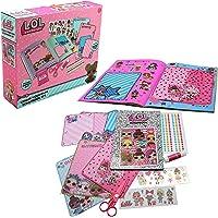 L.O.L. Surprise ! Álbum de Recortes para Niña con Pegatinas Purpurina Juguete Niñas Muñecas LOL Confetti Pop