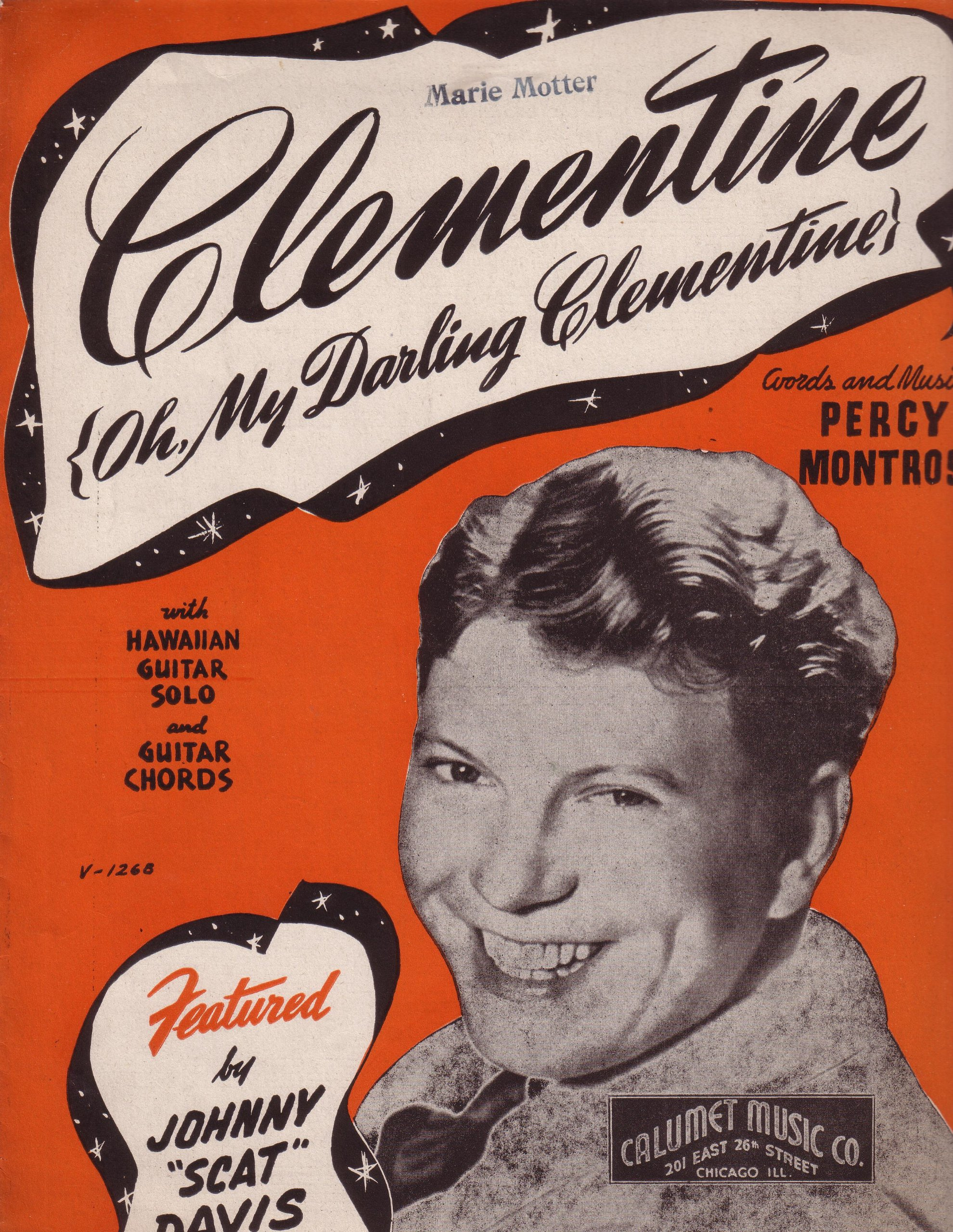 Amazon Percy Montrose Clementine Sheet Music With Hawaiian