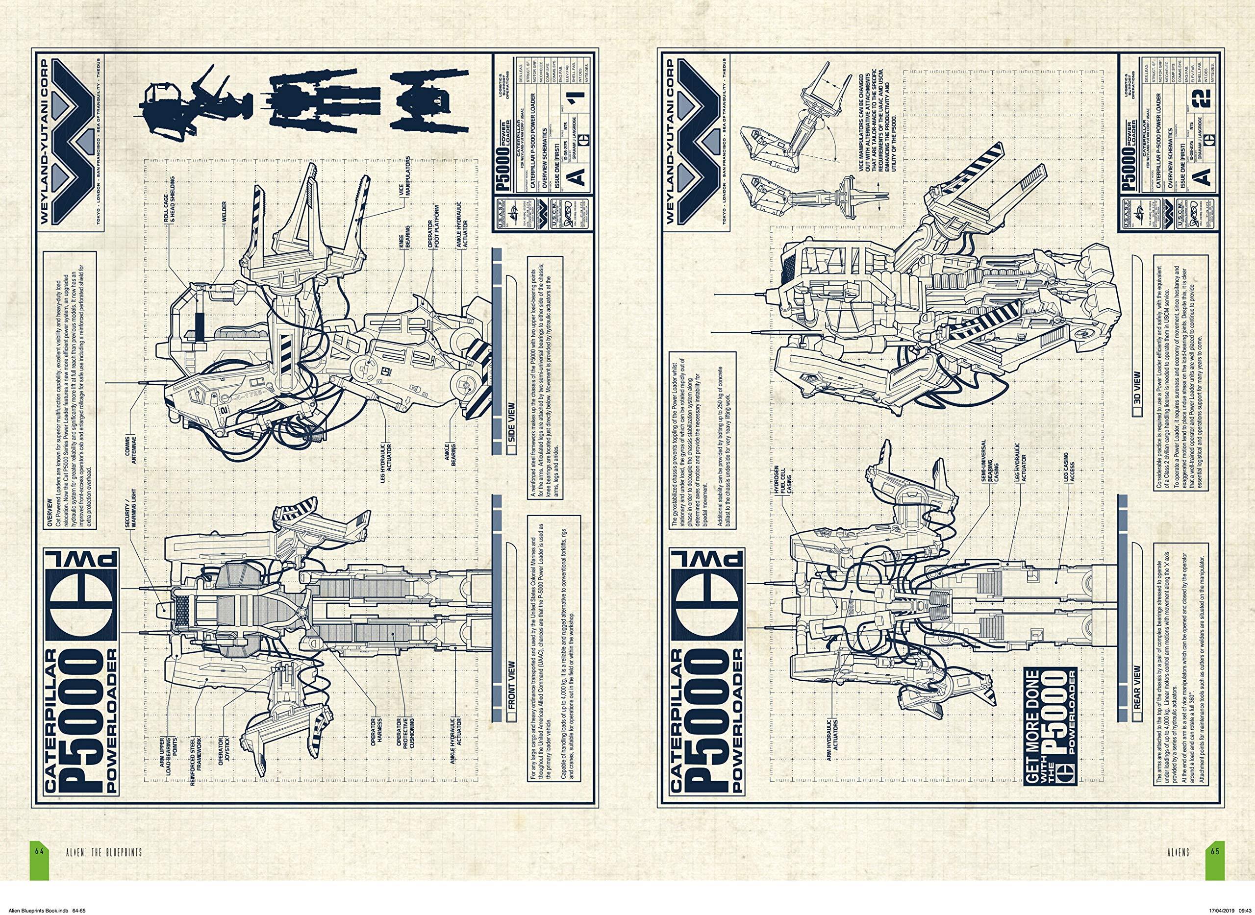 Alien: The Blueprints: Graham Langridge: 9781785654954