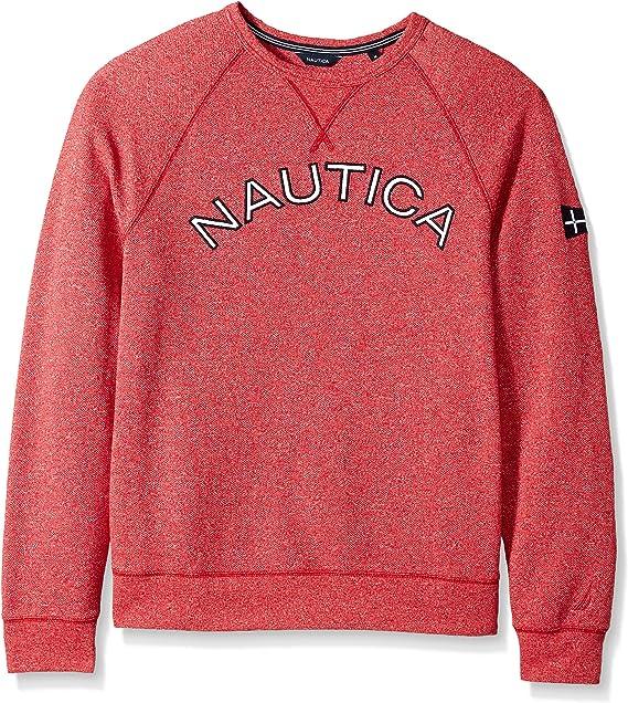 Nautica Mens Signature Crewneck Sweatshirt