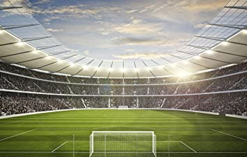 Football Stadium Wall Mural Wallpaper MADE TO MEASURE Amazoncouk