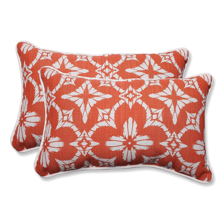 Coral Set of 2 Pillow Perfect Outdoor//Indoor Aspidoras Rectangular Throw Pillow