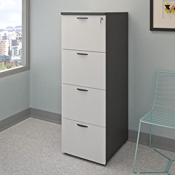 Attrayant CorLiving Workspace Grey Tall Filing Cabinet